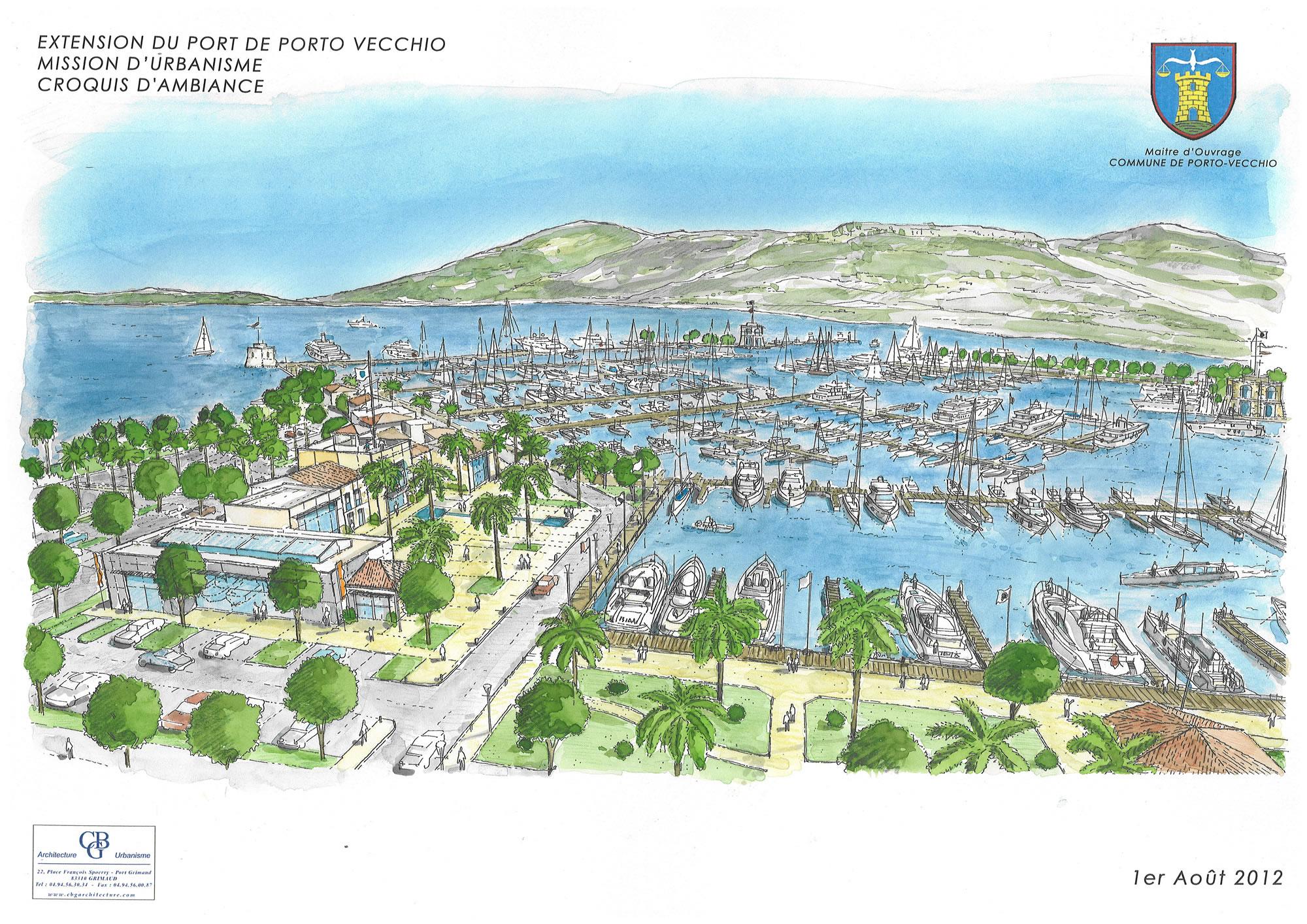 alexandre couelle georges bretones g rard garcia architecte sud paca port grimaud marinas golf. Black Bedroom Furniture Sets. Home Design Ideas